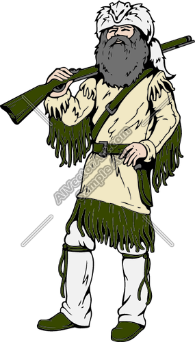 Person On Mountain Clipart.