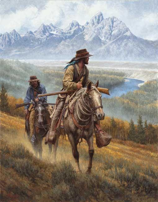 Mountain Men in the Tetons.