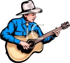 Country Western Clip Art.