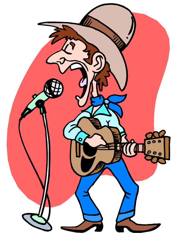 Western Music Clipart.