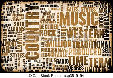 Country western music Illustrations and Clip Art. 486 Country.