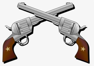 Pistol Drawing Png, Transparent Png.