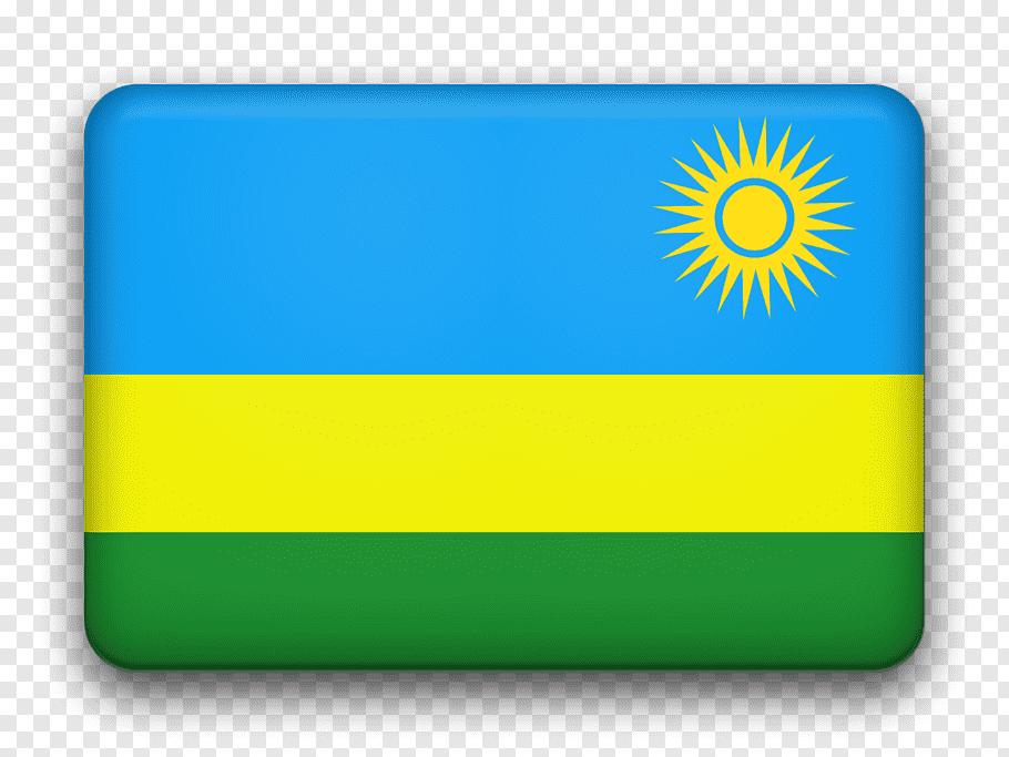 Flag, Flag Of Rwanda, Western Province, National Flag.