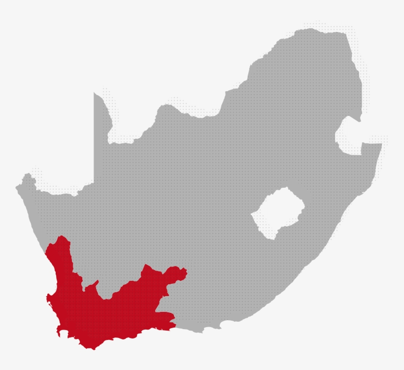 Western Cape Map Image.