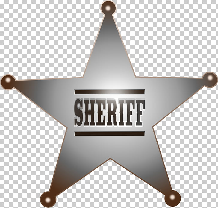 Badge Sheriff , Western Badge s PNG clipart.