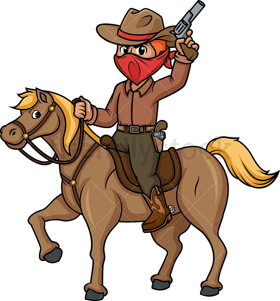 Cowboy Riding Horse in 2019.