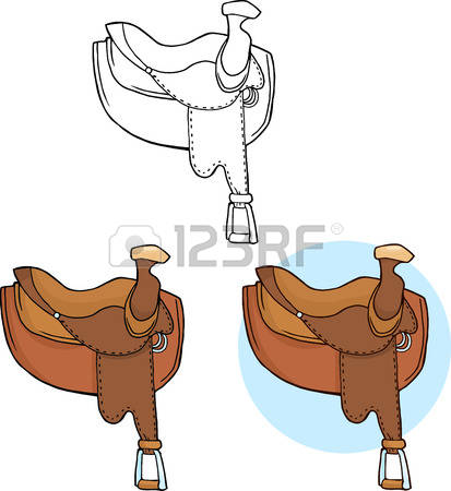 558 Western Saddle Cliparts, Stock Vector And Royalty Free Western.