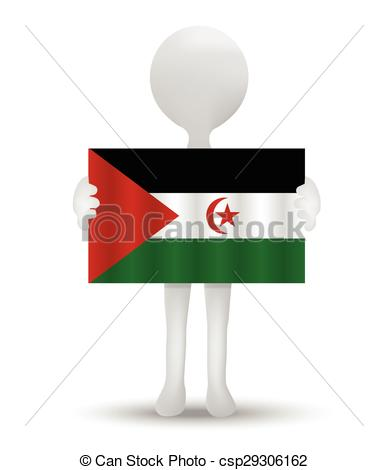 Clip Art Vector of Western Sahara.