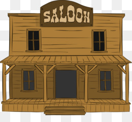 Western Saloon PNG and Western Saloon Transparent Clipart.