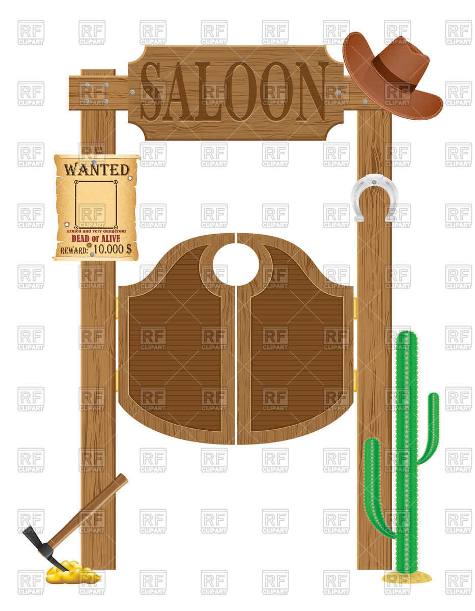 Western Saloon Clipart.