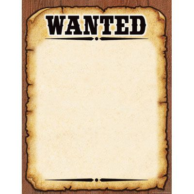 Free download Western Wanted Sign Clipart for your creation.