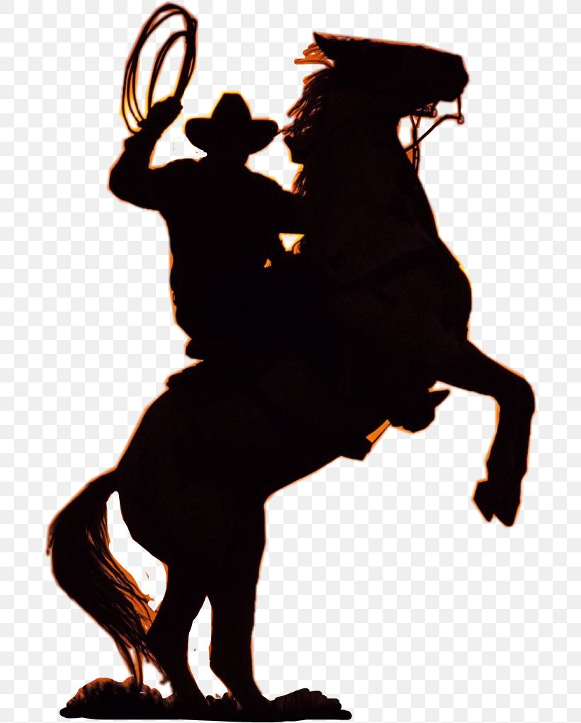 Horse Equestrian Clip Art Silhouette Cowboy, PNG, 698x1021px.