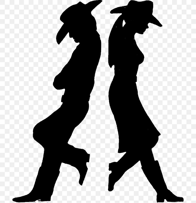 Cowboy Silhouette Western Drawing Clip Art, PNG, 716x850px.