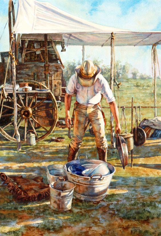 Cowboy Sink ~ Sonya Terpening.