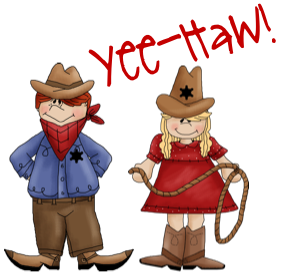 Western Theme Clipart.
