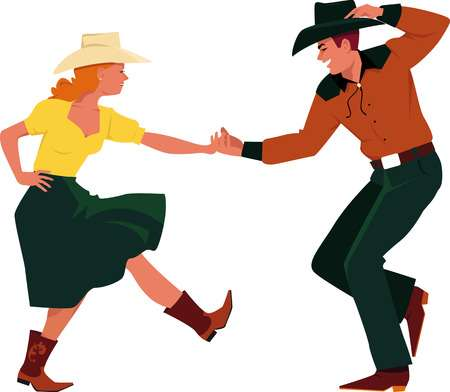 2 747 Square Dance Cliparts Stock Vector And Royalty Free Exclusive.