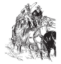 Stagecoach and Horses Vector Images (over 120).