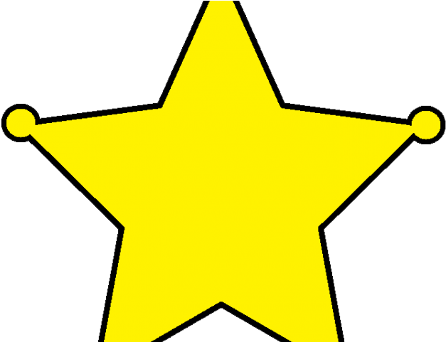 Western Clipart Cowboy Star.