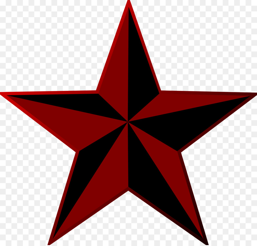 Red Startransparent png image & clipart free download.