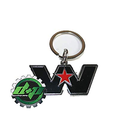 Amazon.com: Western Star WS Logo Emblem Trucks Key Holder.