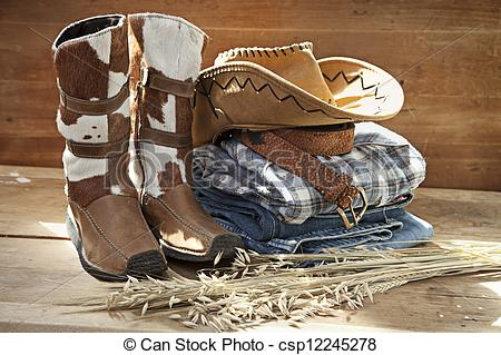 Picture of Cowboy Still life.