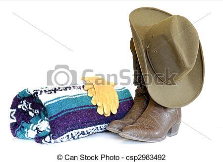Stock Photo of Western Still Life.