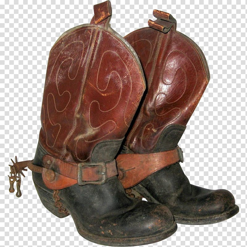Cowboy boot Shoe Spur, boots transparent background PNG.