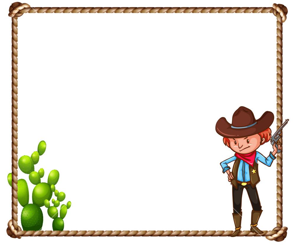 Cowboy Theme Clipart.