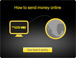Send money online and transfer money online.