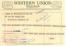 Western Union.