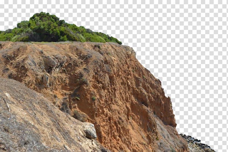 Cliff , mountain landscape painting transparent background.
