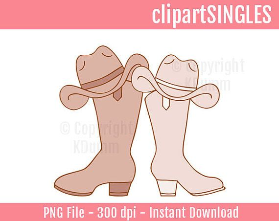 Clipart Rustic Weddings, Wedding Clipart, Country Weddings, Cowboy.
