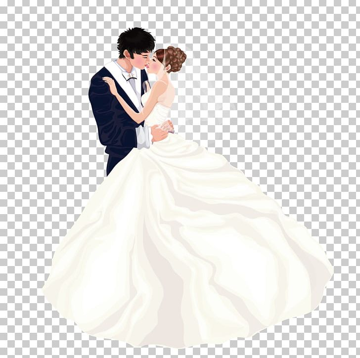 Bride Wedding Dress Marriage Couple PNG, Clipart, Cartoon.