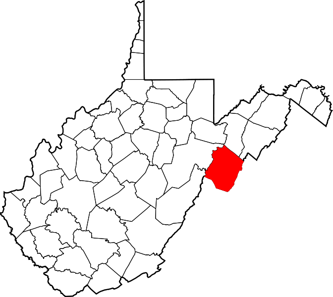 File:Map of West Virginia highlighting Pendleton County.svg.