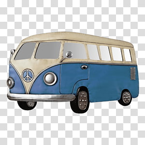 Volkswagen Westfalia Camper transparent background PNG.
