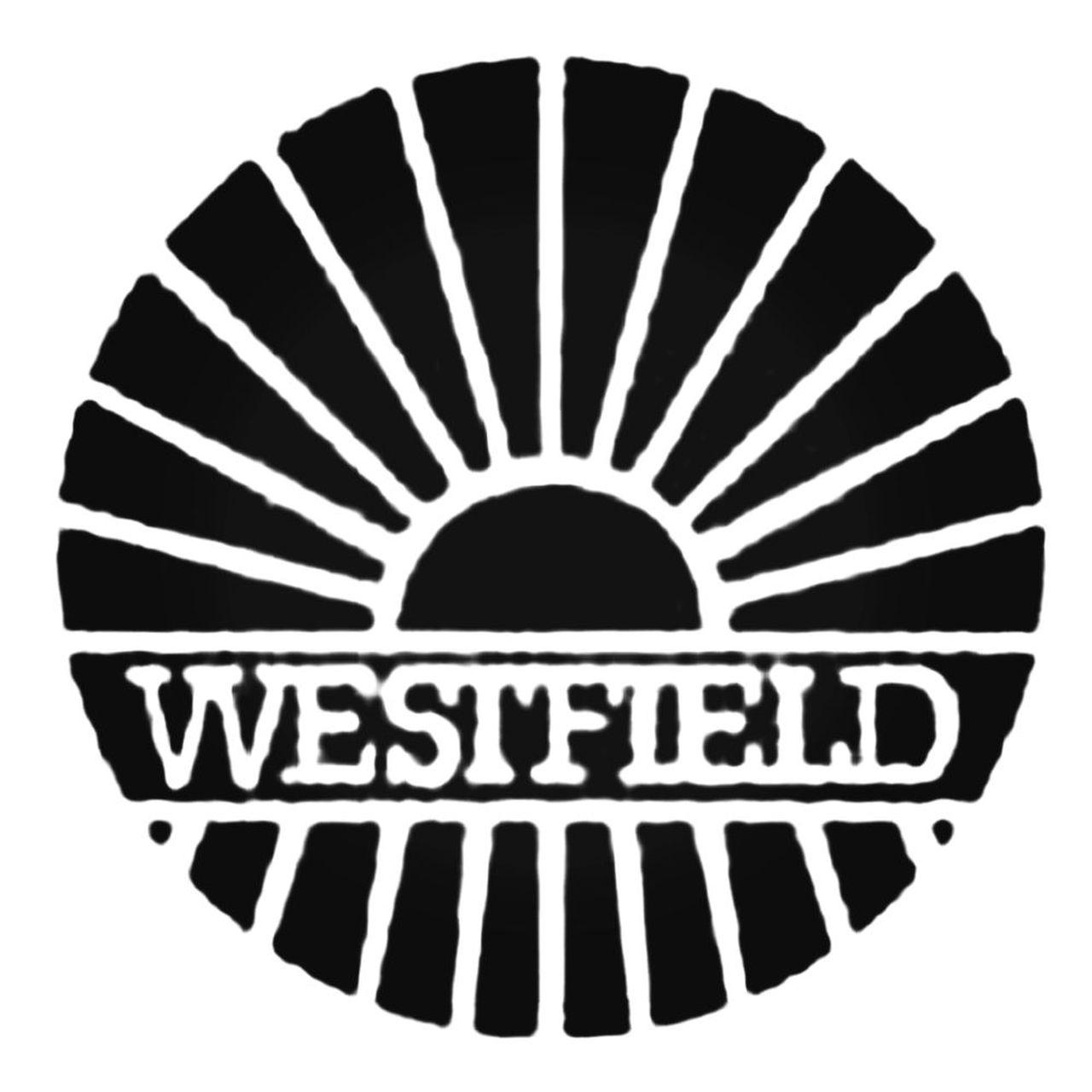 Westfield Logo Aftermarket Decal Sticker.