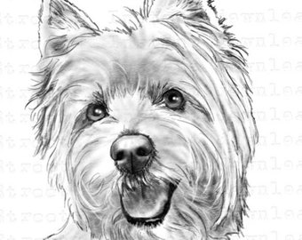 Westie clipart 3 » Clipart Station.