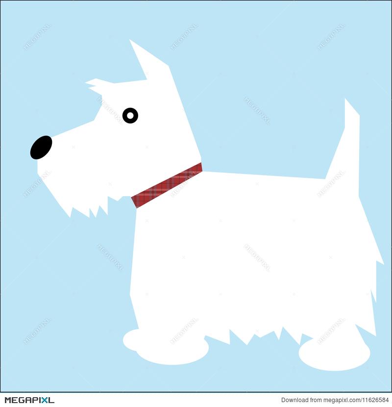 Westie Dog Illustration 11626584.
