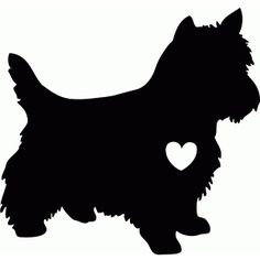 West Highland Terrier Silhouette at GetDrawings.com.