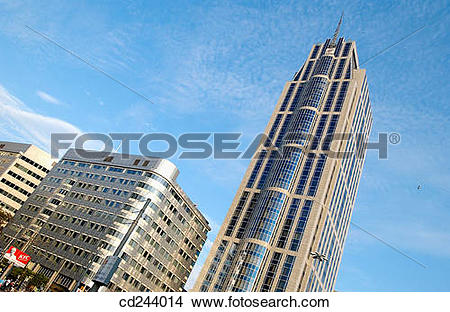 Stock Photo of Westin Hotel, Kruisplein. Rotterdam. Netherlands.