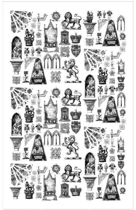 Westminster Abbey Architecture Tea Towel.