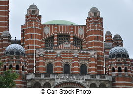 Stock Image of Westminster Cathedral in London, England csp7294446.