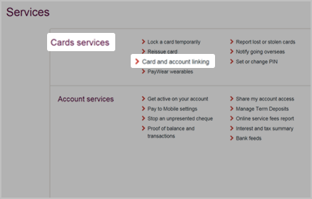 Activate your personal credit card or debit card online or by phone.
