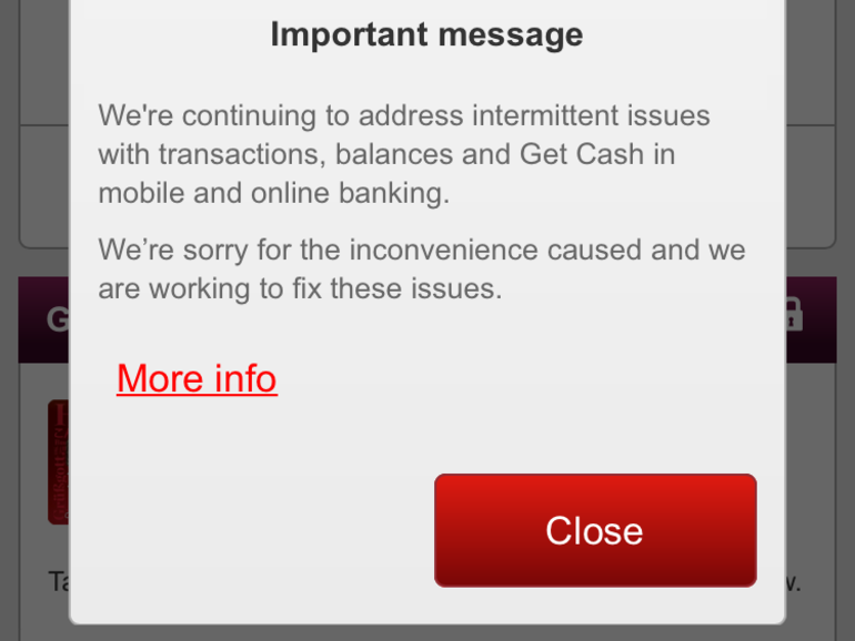 Westpac internet banking suffers 'intermittent issues'.