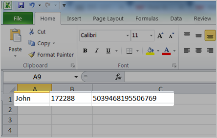 How do I import payee details (csv file type)?.