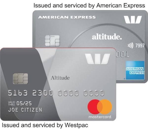 American Express Westpac Altitude Platinum Credit Card Bundle.