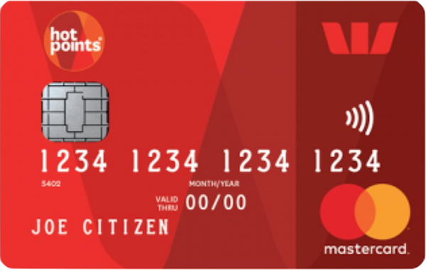 Guide to the Westpac hotpoints Mastercard.