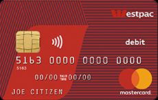 Westpac Choice Debit Card.