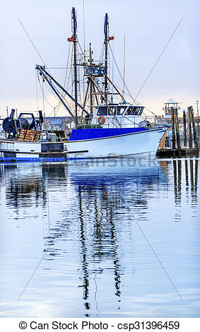 Stock Images of Large Fishing Boat Westport Grays Harbor.