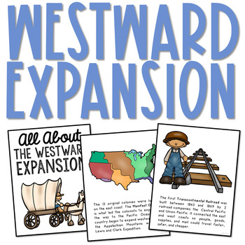 WESTWARD EXPANSION Posters.